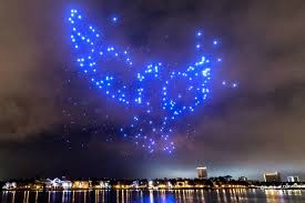 disney drone light show drones to star in innovative holiday light shows at disney springs