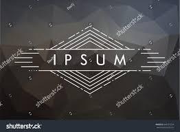 texture for logo abstract vector background vintage frame logos stock vector