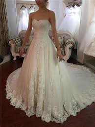 wedding dress with a line wedding dress with fitted bodice flosluna flosluna