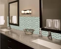 How To Install Glass Tile Backsplash In Bathroom Silver Glass - Tile backsplash bathroom