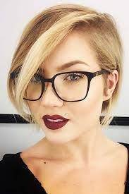 hairstyles glasses round faces how to choose glasses for short hair and round face shape