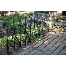 landscape fencing garden kmart panacea edge fence 31 loversiq