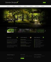 garden design website template 36370
