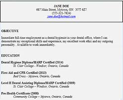 Resume Header Example by Free Resume Template