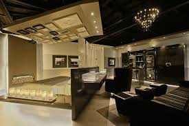 Ceiling Treatment Ideas by Mood Lighting Mode Other Metro Contemporary Family Room Remodeling