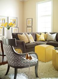 Bedrooms With Yellow Walls Gray And Yellow Master Bedroom Beige Drum Shade Bed Lamp On Small