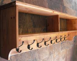 coat rack peg board coat hooks wall mount wood for entry hall