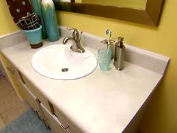 discount bathroom countertops with sink replacing a bathroom sink video diy