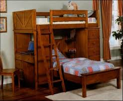 Bunk Bed Frames Solid Wood by Solid Wood Bunk Beds Full Over Full Loccie Better Homes Gardens