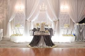 Wedding Decor Dazzling Wintry Weddings
