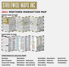 Map Of Little Italy Nyc by Streetwise Midtown Manhattan Map Laminated City Street Map Of