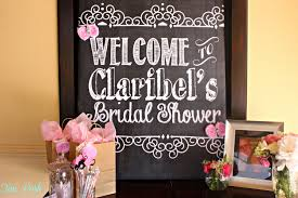welcome to bridal baby shower or birthday sign digital