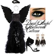 Halloween Costumes Angels Dark Angel Halloween Costume Polyvore