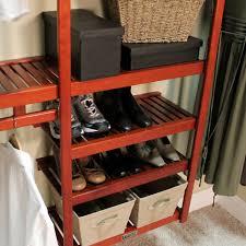 amazon com john louis home standard closet shelving system red