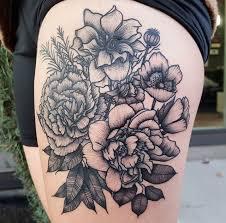 carnation flower tattoo designs collection 69