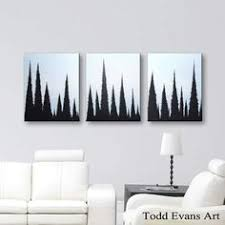 Modern Art Home Decor Black U0026 White Wall Art Canvas Art Home Decor Hand Painted