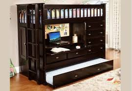 Bunk Beds Espresso Espresso All In One Bunk Bed Bunk Beds Exclusive Furniture