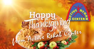Thanksgiving 2015 Happy Thanksgiving U2014 Active Rehab Center