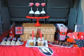 Uga Home Decor by My Parties Tailgating Georgia Bulldog Style