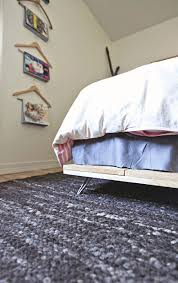 diy simple bed frame u2013 a beautiful mess