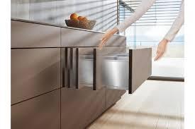 blum kitchen design blum offers practical handle less design options at all project