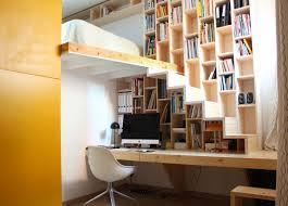 desk and bookshelves 50 creative ways to incorporate book storage in u0026 around stairs