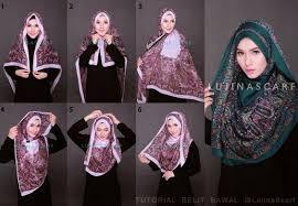 tutorial hijab resmi azis muhammad ihsan