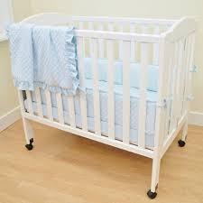 Mini Crib Bed Skirt by American Baby Company Heavenly Soft Minky Dot 3 Piece Mini Crib