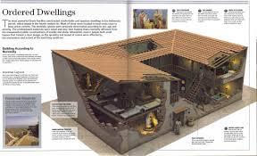 ancient greek houses