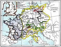 Map Of Germany In Europe by Central Europe Map 1360 A D Full Size