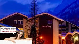 hotel sarazena zermatt switzerland the right room youtube