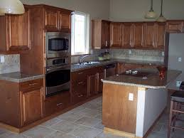 Inexpensive Kitchen Remodeling Ideas Granite Counter With Wood Cabinets Granite Countertops