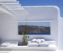 greek beach villa resort balcony cote sud pinterest