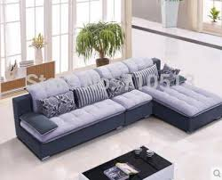 Designs For Sofa Sets For Living Room Top Quality Design Living Room Sofa Set Flocking Fabric Sofa