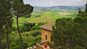 hd wallpaper vintage tuscany toscana italy wide 1280x720px dream