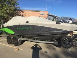 2016 mastercraft x23 lime green gunmetal flake utah water sports