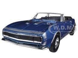 1967 camaro diecast chevrolet camaro ss convertible blue 1 24 diecast car model