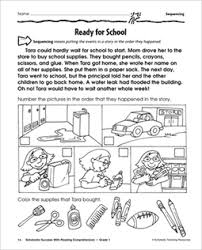 sequence of events worksheets 3rd grade worksheets