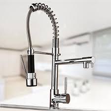 commercial kitchen sink faucet co z commercial 18 1 2 kitchen sink faucet pull with swivel