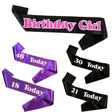 happy birthday sash party decoration 5pcs birthday sash souvenir brooch princess