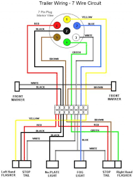 7 pin trailer plug wiring diagram kwikpik me