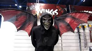 halloween expo 2012 vampire mask and wings costume youtube