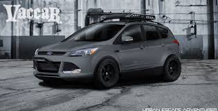 Ford Escape 2012 - ford showing pair of tuned escapes at sema