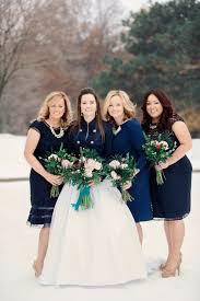 fresh winter bouquet blue bridesmaid dresses creative maxx ideas