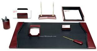 Desk Accessory Sets Desk Office Desk Accessories Set Ovado Desk Accessories Office