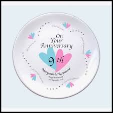 9th anniversary gift ideas awesome 9th wedding anniversary gift ideas for images style