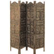 bohemian solid wood room dividers you u0027ll love wayfair
