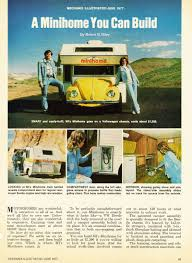 minihome a vw bug motorhome with sleeping and camping for four
