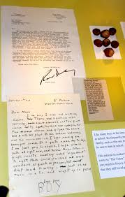 what colour paper did roald dahl write on green egyptian noise best day ever ever a letter from roald dahl to his mom