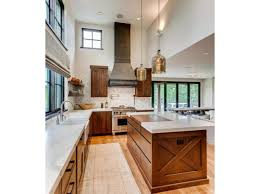 home design shop inc single story home design transitional cooking area via form